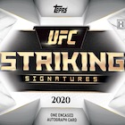 2020 Topps Striking Signatures MMA