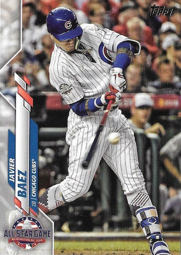 2020 Topps Update Baseball Variations Gallery and Checklist 97