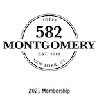 2021 Topps 582 Montgomery Club Baseball Cards - Set 1