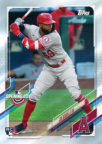 2021 Topps Opening Day Baseball Cards - Checklist Added 4