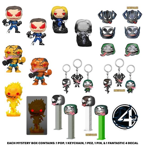 Ultimate Funko Pop Venom Figures Gallery and Checklist 61