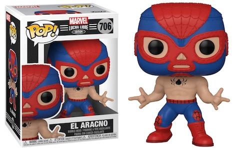 Funko Pop Marvel Lucha Libre Luchadores Figures 1