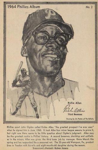 Top 10 Dick Allen Baseball Cards 12