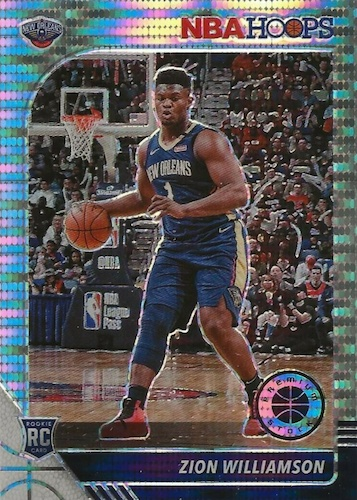 2019-20 NBA Hoops Premium Stock Box Set Basketball Cards 3