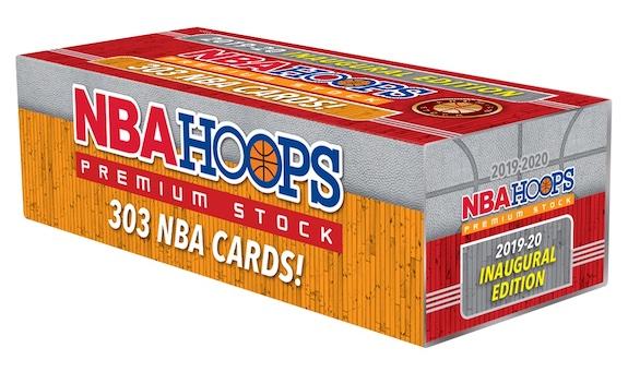 2019-20 NBA Hoops Premium Stock Box Set Basketball Cards 9