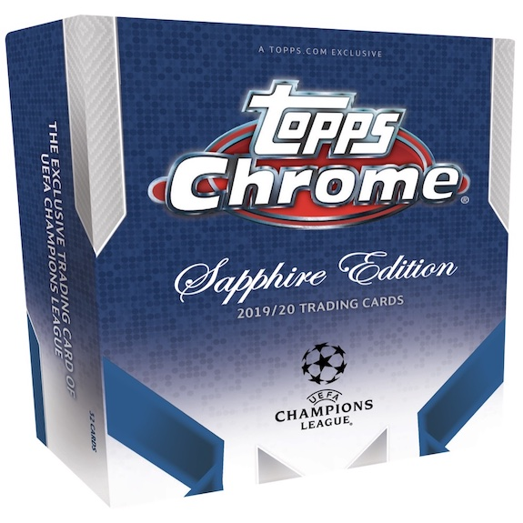 2019-20 Topps Chrome Sapphire Edition UEFA Champions League Soccer Cards 4