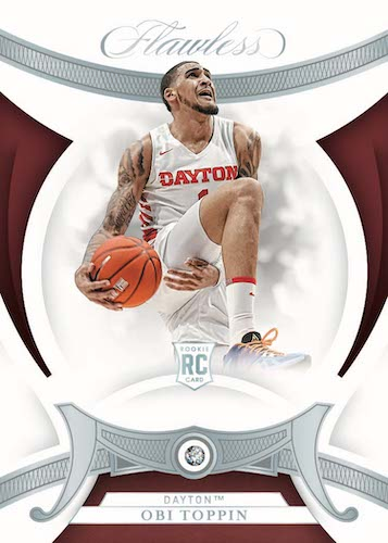 2020-21 Panini Flawless Collegiate Basketball Cards - Checklist Added 4