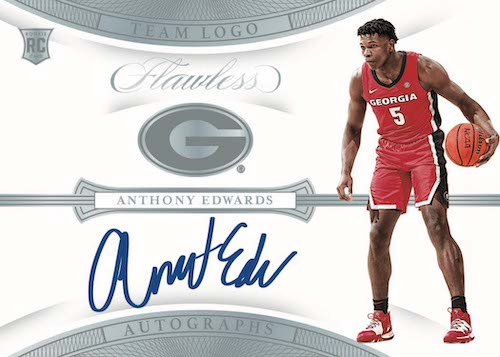 2020-21 Panini Flawless Collegiate Basketball Cards - Checklist Added 7