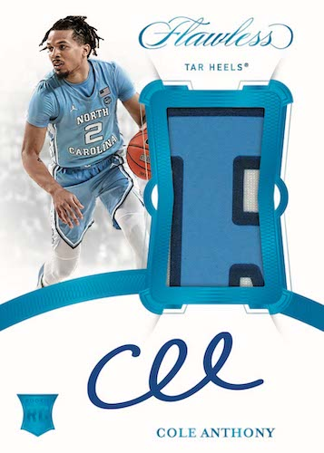2020-21 Panini Flawless Collegiate Basketball Cards - Checklist Added 6