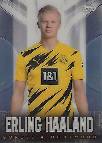 2020-21 Topps Chrome BVB Borussia Dortmund Soccer Cards - Checklist Added 3