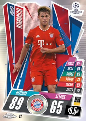 2020-21 Topps Chrome Match Attax UEFA Champions League Europa League Soccer Cards 3