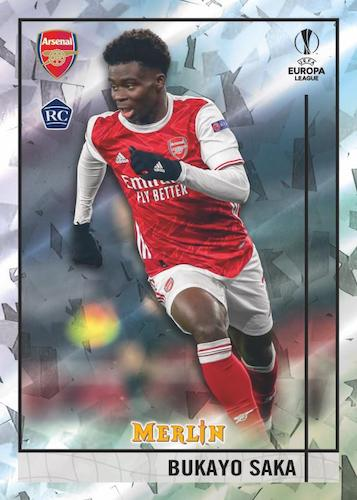 2020-21 Topps Merlin Collection Chrome UEFA Champions League Europa League Soccer Cards 1