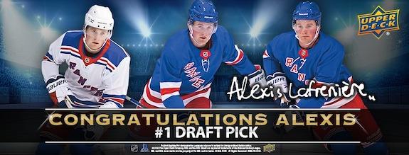2020-21 Upper Deck Alexis Lafrenière Collection Hockey Cards 1
