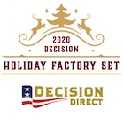 2020 Decision Direct Holiday Factory Set Political Trading Cards