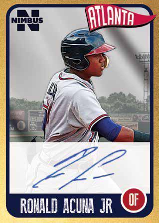 2020 Onyx Nimbus Baseball Cards - Checklist Added 5