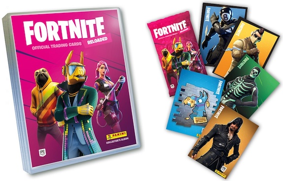 2020 Panini Fortnite Reloaded Trading Cards 3