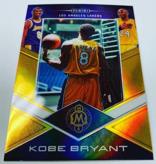 2020 Panini Kobe Bryant Career Highlights Redemption Packs Basketball Cards 1
