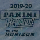 2020 Panini On the Horizon Multi-Sport Panini Rewards Cards