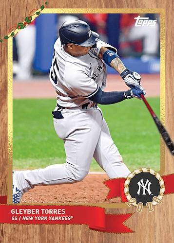 2020 Topps Advent Calendar Baseball Cards Checklist Guide 1