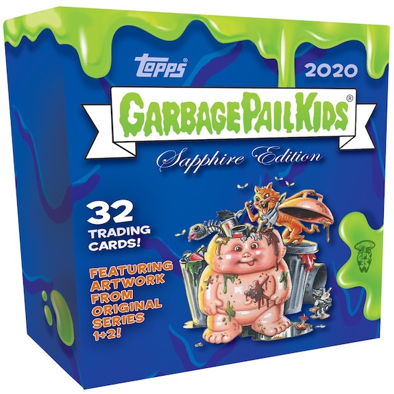 2020 Topps Garbage Pail Kids Sapphire Edition Trading Cards 3