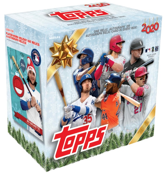 2020 Topps Holiday Baseball Mega Box Cards 6
