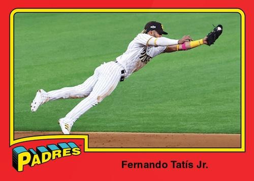 2020 Topps Throwback Thursday Baseball Cards - Set 52 53