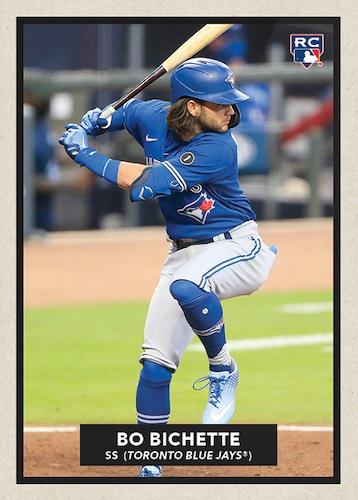 2020 Topps Throwback Thursday Baseball Cards - Set 52 54