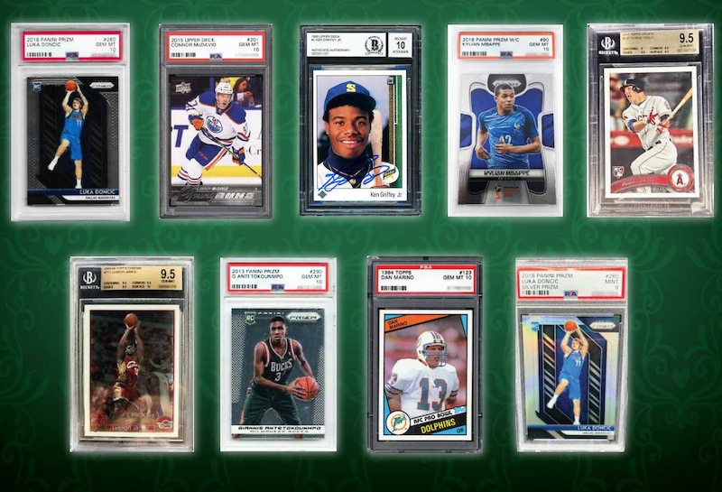 2021 Leaf Slab Mania Multi-Sport Cards 3