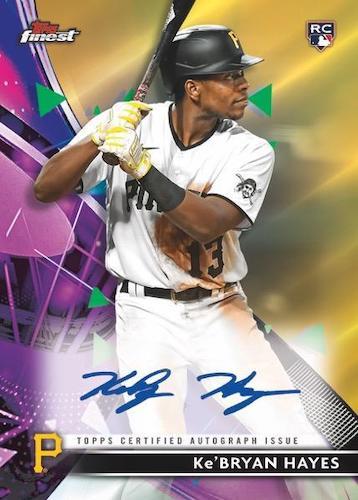 2021 Topps Finest Baseball Cards 7