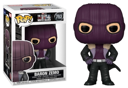 Funko Pop Falcon and the Winter Soldier Figures 3
