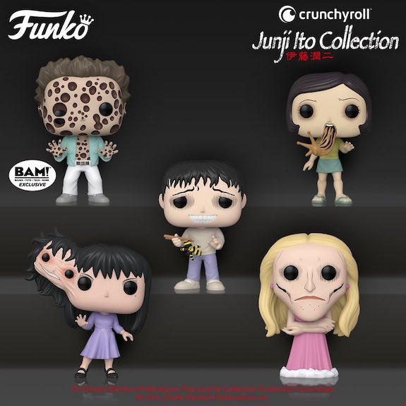 Funko Pop Junji Ito Collection Figures 2