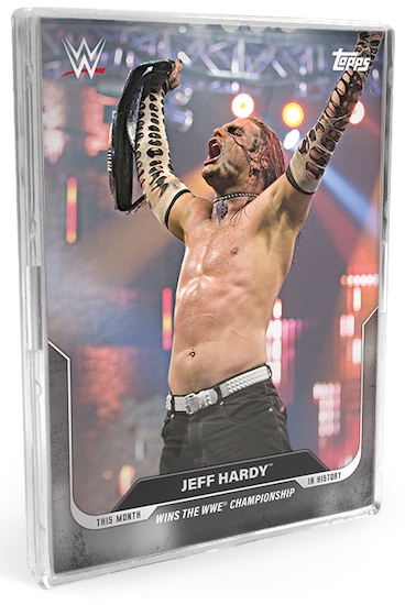 Topps This Month in WWE History Wrestling Cards 2