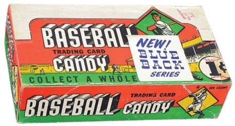 1951 Topps Blue Backs Baseball Cards 4