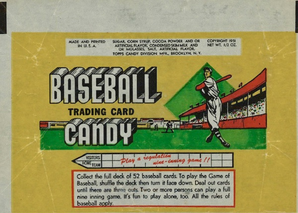 1951 Topps Connie Mack's All-Stars Baseball Cards 3