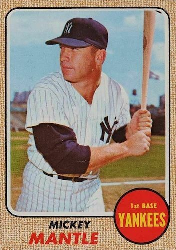 Top 1968 Baseball Cards to Collect 7