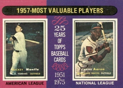 Vintage Topps Hank Aaron Baseball Cards Showcase Gallery and Checklist 61