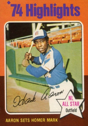 Vintage Topps Hank Aaron Baseball Cards Showcase Gallery and Checklist 60