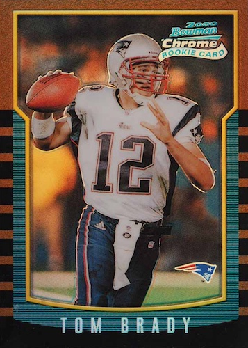 Ultimate Tom Brady Rookie Cards Gallery, Checklist and Hot List 2