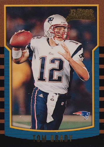 Ultimate Tom Brady Rookie Cards Gallery, Checklist and Hot List 1