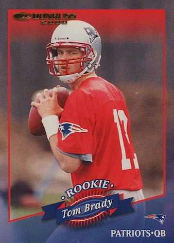 Ultimate Tom Brady Rookie Cards Gallery, Checklist and Hot List 4