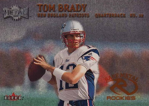 Ultimate Tom Brady Rookie Cards Gallery, Checklist and Hot List 7