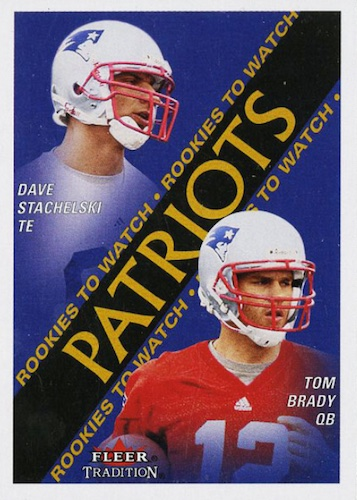 Ultimate Tom Brady Rookie Cards Gallery, Checklist and Hot List 10
