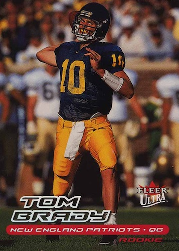 Ultimate Tom Brady Rookie Cards Gallery, Checklist and Hot List 11