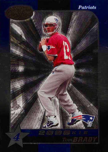 Ultimate Tom Brady Rookie Cards Gallery, Checklist and Hot List 12