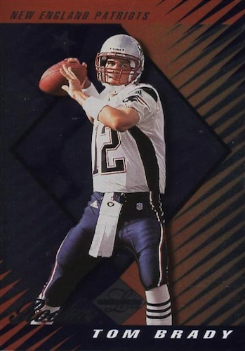 Ultimate Tom Brady Rookie Cards Gallery, Checklist and Hot List 13