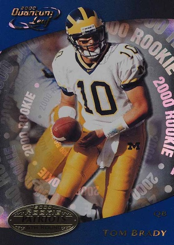 Ultimate Tom Brady Rookie Cards Gallery, Checklist and Hot List 14