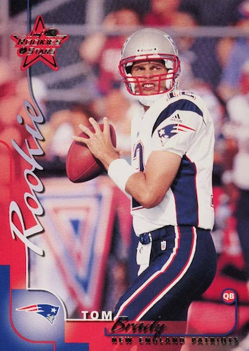 Ultimate Tom Brady Rookie Cards Gallery, Checklist and Hot List 15