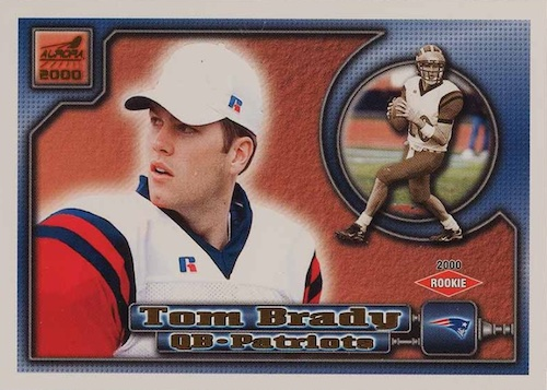 Ultimate Tom Brady Rookie Cards Gallery, Checklist and Hot List 17