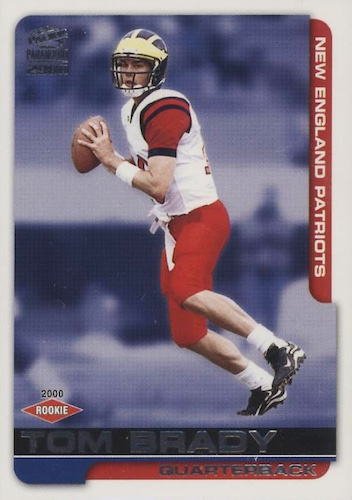 Ultimate Tom Brady Rookie Cards Gallery, Checklist and Hot List 22