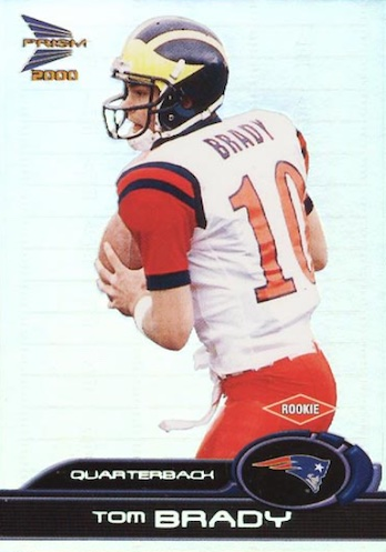 Ultimate Tom Brady Rookie Cards Gallery, Checklist and Hot List 23